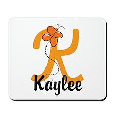 Custom K Monogram Mousepad