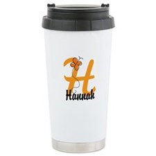 Custom H Monogram Travel Mug