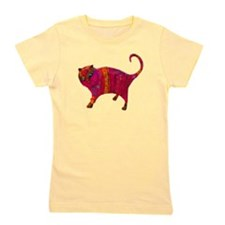 The Pink Tiger Kitty Girl's Tee