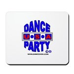 DANCE PARTY USA COMPUTER MOUSE PAD