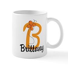 Custom B Monogram Mug