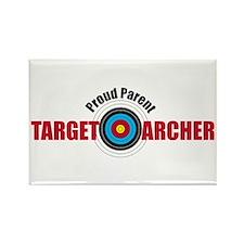 Proud Parent Target Archer Rectangle Magnet
