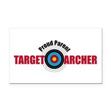 Proud Parent Target Archer Rectangle Car Magnet