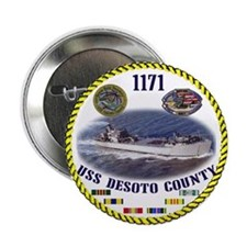 "Desoto 1171 2.25"" Rope Button"