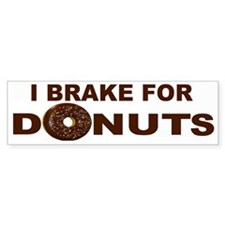 I Love Donuts! Bumper Bumper Sticker