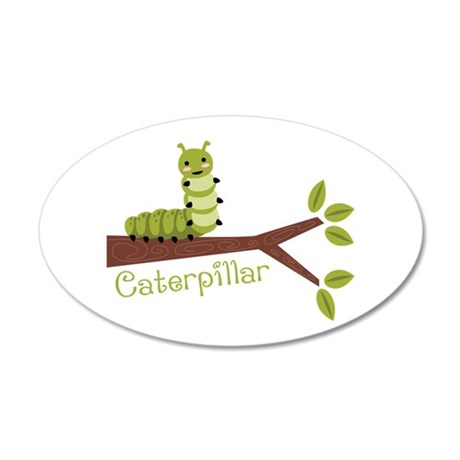Caterpillar Wall Decal