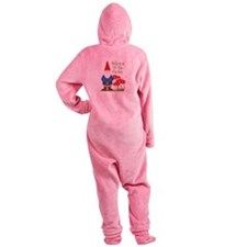 Welcome to the Garden Footed Pajamas
