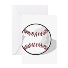 BASEBALL65 Greeting Cards
