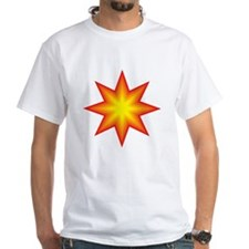 Fiery Orange and Yellow Star T-Shirt