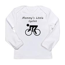 Mommys Little Cyclist Long Sleeve T-Shirt