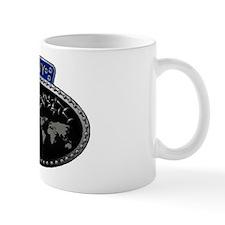 Navy Bratpin Mug Mugs