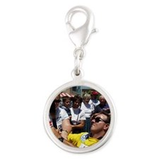 Barry Smith 2000  Silver Round Charm