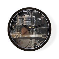 Steam Locomotive wheels Wall Clock