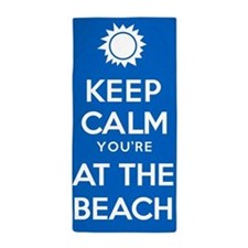 Keep Calm At The Beach Towel