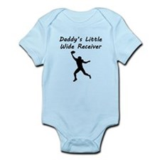 Daddys Little Wide Receiver Body Suit