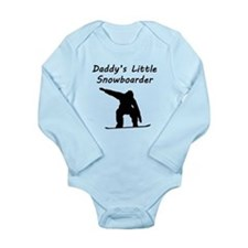 Daddys Little Snowboarder Body Suit