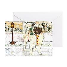 Holiday Pug Chanukah Cards (6)