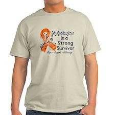 Goddaughter Strong Survivor T-Shirt