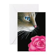 cat 465 Greeting Card