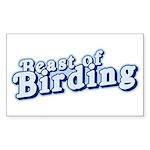 Beast of Birding Sticker (Rectangle)