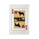King Kuvasz Rectangle Magnet (10 pack)