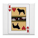 King Kuvasz Tile Coaster