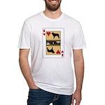 King Kuvasz Fitted T-Shirt