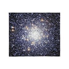 Messier 69 Star Cluster Throw Blanket
