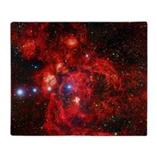 Lobster Nebula Throw Blanket