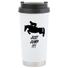 jump it horse Travel Mug
