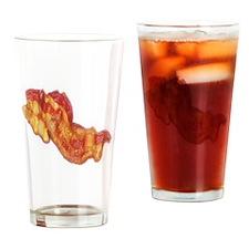 Bacon Strip Drinking Glass