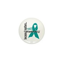 Awareness 1 Interstitial Cys Mini Button (10 pack)