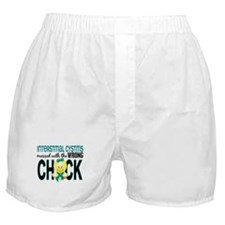 Messed With Wrong Chick 1 IC Boxer Shorts