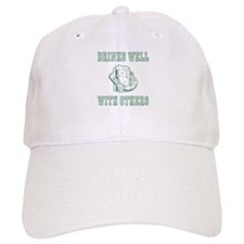 Drinks well with others | St Patricks Baseball Baseball Cap