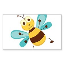 Happy Bee Decal