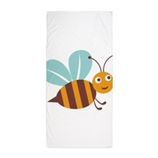 Flying Bee Beach Towel