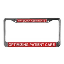 Cute Patient License Plate Frame