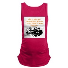 bridge players Maternity Tank Top