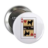"King Sheepdog 2.25"" Button (100 pack)"