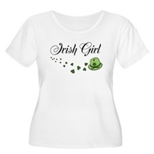 Irish Girl | St Patricks Day Plus Size T-Shirt