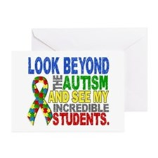 Look Beyond 2 Autism Stu Greeting Cards (Pk of 20)