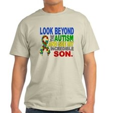 Look Beyond 2 Autism Son T-Shirt