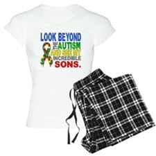 Look Beyond 2 Autism Sons Pajamas