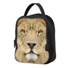 African Lion Neoprene Lunch Bag
