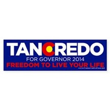 Tancredo For Governor Bumper Bumper Sticker