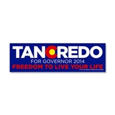 Tancredo For Governor Car Magnet 10 X 3