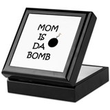 MOM IS DA BOMB Keepsake Box