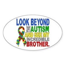 Look Beyond 2 Autism Brother Decal