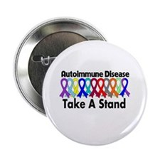 "Autoimmune Disease TAS 2.25"" Button (100 pack)"