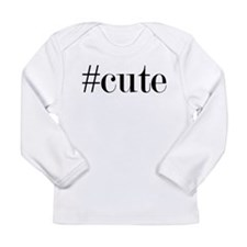 Cute Hashtag Long Sleeve T-Shirt